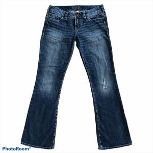 Silver Jeans Pioneer Boot Cut Medium Wash Jeans